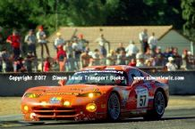Chrysler Viper GTS-R (Hezemans/Hugenholz/Hart ) photo. Le Mans 24 hours 2000  Dunlop Chicane